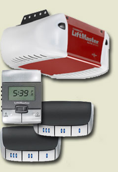 Liftmaster 3850 includes Keypad and 2 Remotes